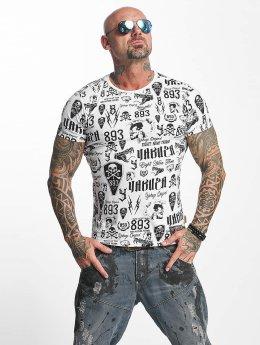 Yakuza t-shirt Allover Label wit