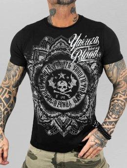 Yakuza t-shirt Inked in Blood zwart
