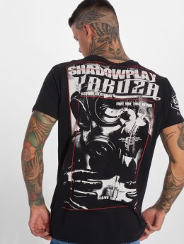 Yakuza t-shirt Shadowplay zwart