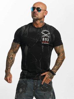 Yakuza t-shirt Blaze N Glory zwart