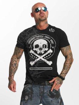 Yakuza t-shirt Face zwart
