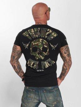 Yakuza t-shirt Sick Fuck Military zwart