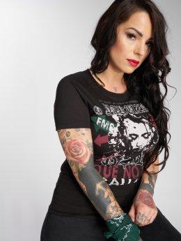 Yakuza t-shirt Por Que No zwart