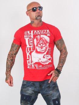 Yakuza T-shirts Love Kill Pray rød