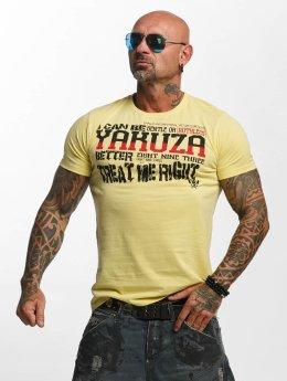 Yakuza T-Shirty Treat Me bezowy