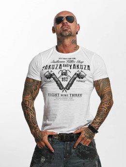 Yakuza T-Shirty Tattoo Shop bialy