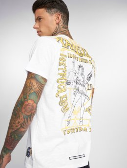 Yakuza T-Shirty Everyday bialy