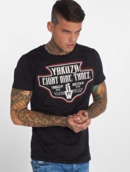 Yakuza T-Shirty Jesus czarny