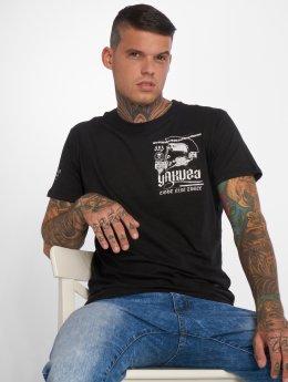 Yakuza T-Shirty Trojan czarny