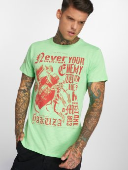 Yakuza T-Shirty Mistake zielony