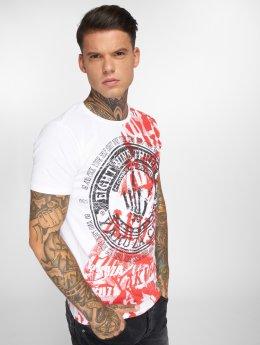 Yakuza T-skjorter Club hvit