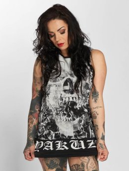 Yakuza Tank Tops Flowers Of Death svart