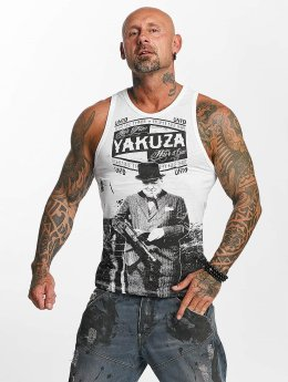 Yakuza Tank Tops Untd weiß