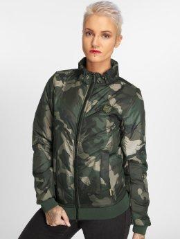Yakuza Übergangsjacke Lily Padded camouflage