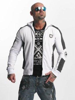 Yakuza Veste mi-saison légère Punx Two Face blanc