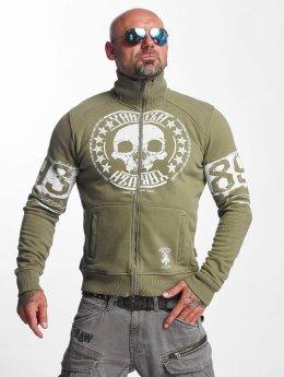 Yakuza Veste mi-saison légère Skull Label vert