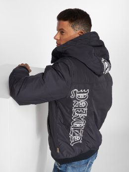 Yakuza Winter Jacket 893 Hooded indigo