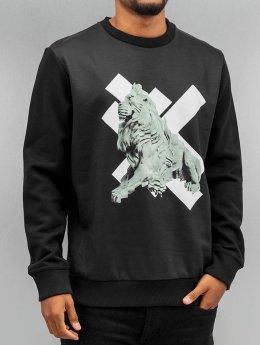 Yezz Pullover Lion schwarz