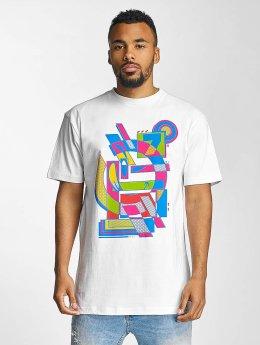 Yums T-paidat Abstract II  valkoinen
