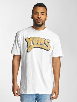Yums T-shirt Oh My Lion bianco