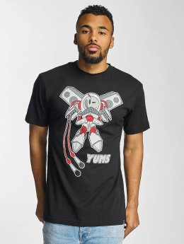 Yums T-shirt Rocket Boy nero