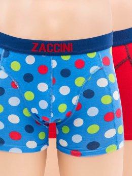 Zaccini  Shorts boxeros Confetti 2-Pack azul