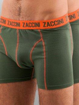 Zaccini Boksershorts Uni 2-Pack  oliven