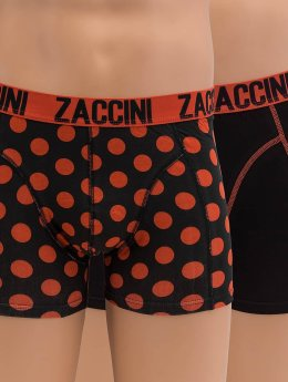 Zaccini Boksershorts Royal Dots orange