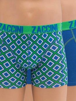 Zaccini Boxer Short Ocean Square green