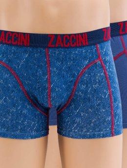 Zaccini Boxershorts Denim 2-Pack blau