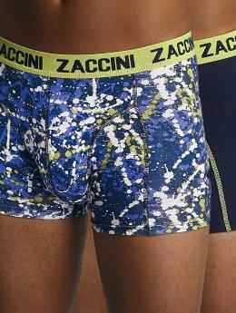 Zaccini Boxershorts Paint blau