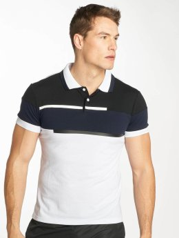 Zayne Paris Polo Stripe blanc