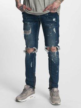 Zayne Paris Straight Fit Jeans Nantes blau