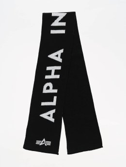 Alpha Industries Schal Logo schwarz