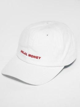 Helal Money 5 Panel Caps LOGO bílý