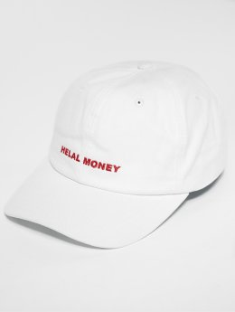 Helal Money Casquette 5 panel LOGO blanc