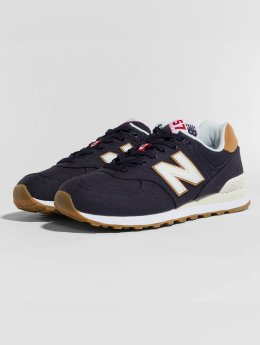 New Balance Sneaker ML574 D YLD blau