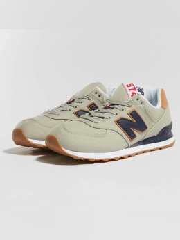 New Balance Sneaker ML574 D YLD grau