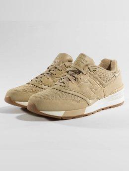 New Balance Sneaker ML 597 SKH marrone