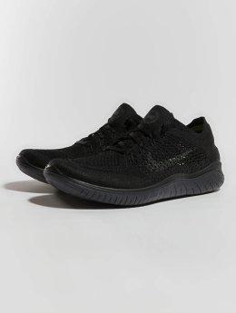 Nike Performance Sneakers RN Flyknit 2018 czarny