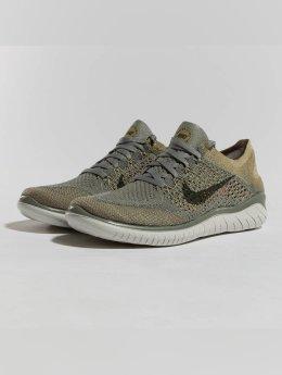 Nike Performance Zapatillas de deporte Free RN Flyknit 2018 oliva
