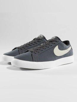 Nike SB Blazer Vapor Textile Skateboarding Sneakers Dark Grey/Light Bone/Summit White