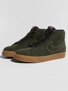 Nike SB sneaker Zoom Blazer Mid bruin