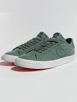 Nike SB Sneaker SB Zoom Blazer Low Canvas Deconstructed grün