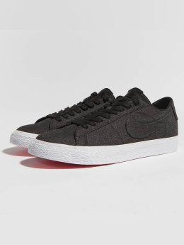 Nike SB sneaker Zoom Blazer Low Canvas Deconstructed zwart