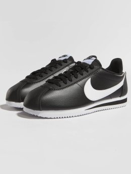 Nike Sneaker Cortez Leather schwarz