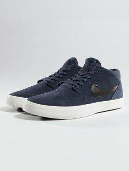 Nike Tennarit SB Solarsoft Portmore ll Mid Skateboarding sininen