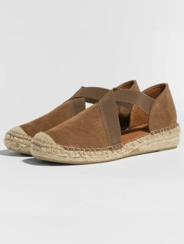 Pieces Slipper/Sandaal psLyna Suede bruin