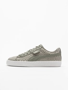 Puma Baskets Basket Satin EP gris