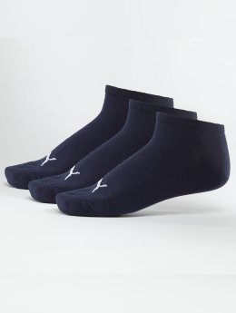 Puma Chaussettes Sneakers 3 Pack bleu